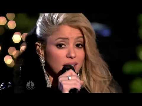 Shakira - Gypsy (Christmas In Rockefeller Center 2009)