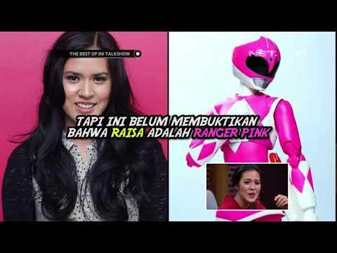 Cover Lagu Ternyata Ranger Pink Itu Raisa Loh - The Best of Ini Talk Show HITSLAGU