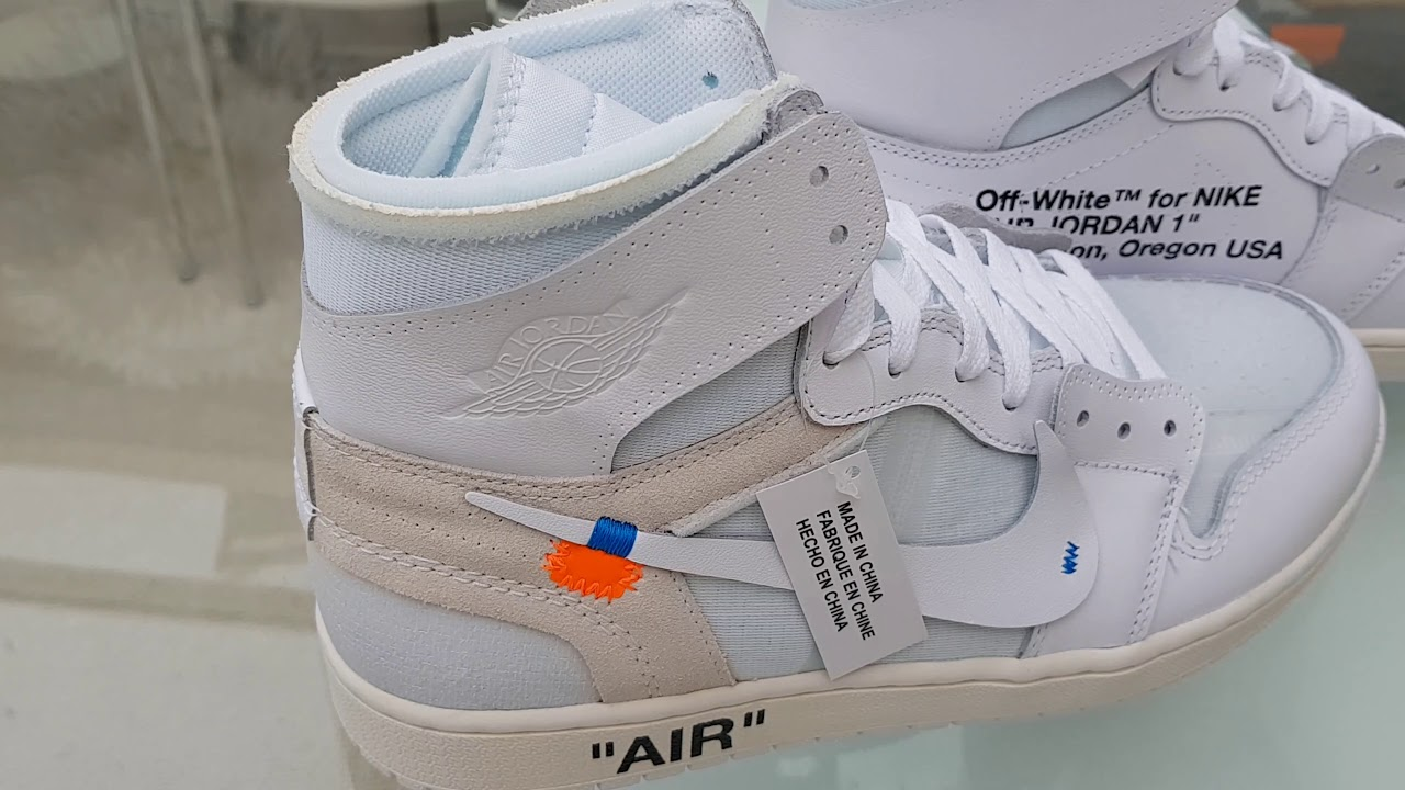 2e7340585edf85 Jordan 1 x Off White NRG Unboxing and First Impressions (issues with laces)