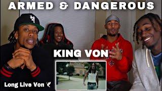 "King Von - ""Armed & Dangerous"" REACTION!!"