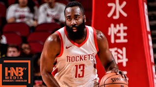Houston Rockets vs Shanghai Sharks Full Game Highlights | 10.09.2018, NBA Preseason