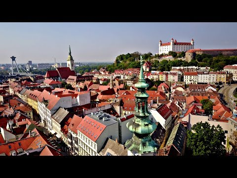 Drone-ing in Bratislava, Slovakia