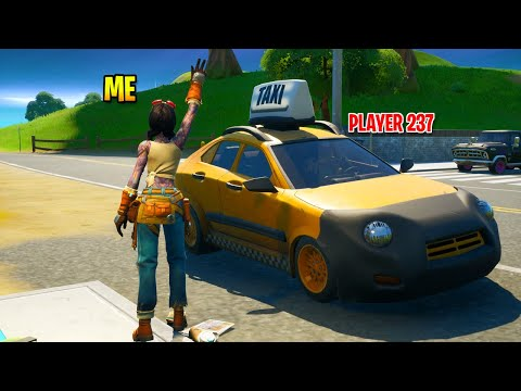I Called For Taxis In Fortnite And It Worked