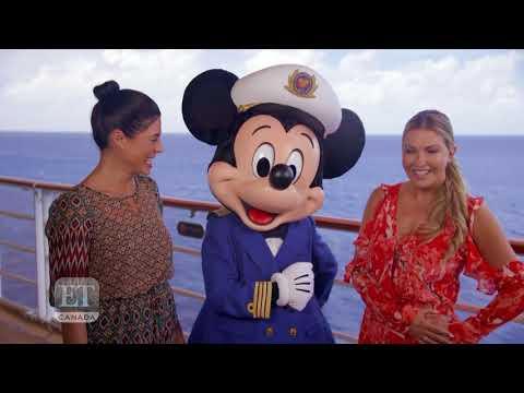 'Private Eyes' Star Cindy Sampson Takes A Disney Cruise