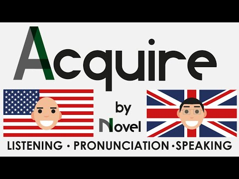 How to acquire English naturally. Improve your English Speaking, Listening and Pronunciation.