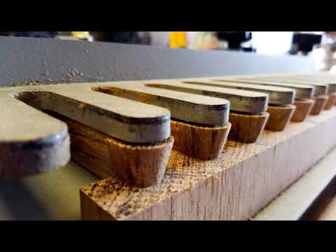 How to make Dovetail  joint tutorial Culvertail joints Half-blind dovetail joint diy tips help