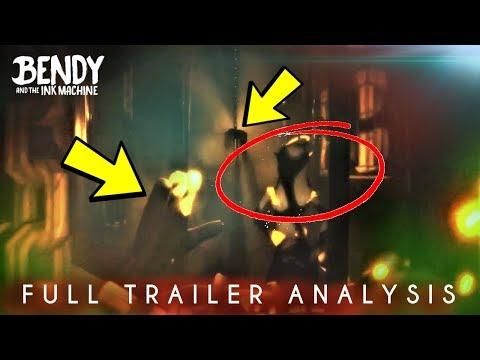 New BATIM Chapter 4 Trailer! | Analysis & Theories (Bendy & the Ink Machine)