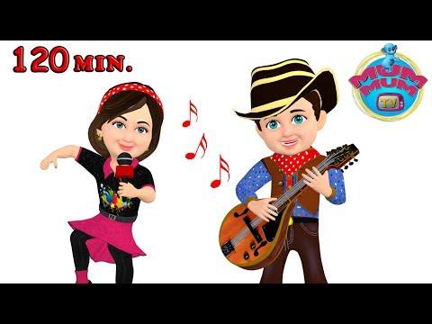 Hokey Pokey Song and Dance & Nursery Rhymes for Children | Wheels On The Bus | Mum Mum TV