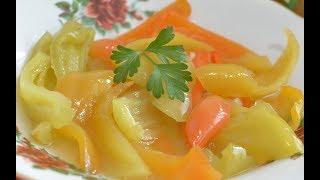 Маринованный перец на зиму простой рецепт