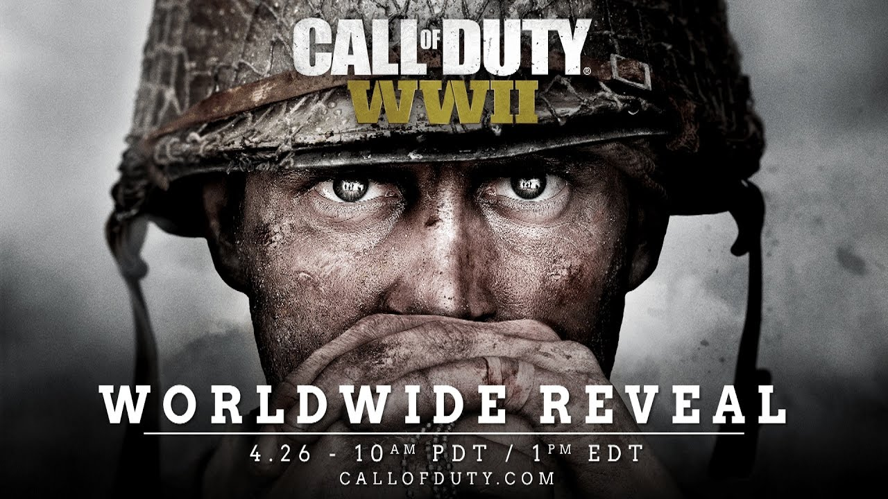 Watch The 'Call Of Duty: World War II' Reveal Livestream Right Here