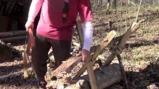 Building A Sturdy Basecamp Sawbuck