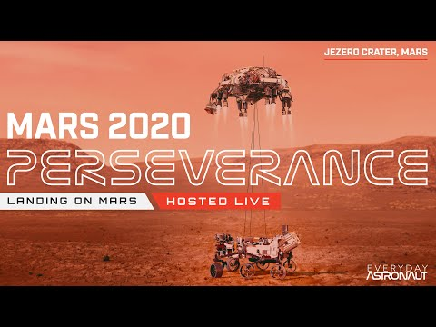 Watch NASA land the Perseverance Rover on Mars!