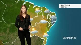 Previsão Nordeste - Tempo instável na costa