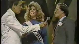 Miss Universe 1981 Interview 2/2
