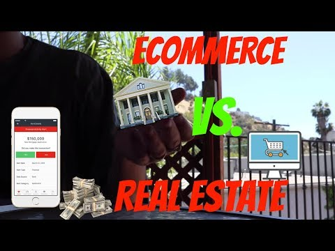 Ecommerce & Dropshipping Vs. Wholesaling Real Estate – Which Passive Income Is Best? thumbnail