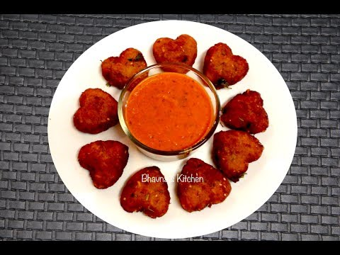 Aloo Cutlets - Video Recipe - Quick & Easy Potluck Recipe - Potato Patties - Valentine's Day Recipe