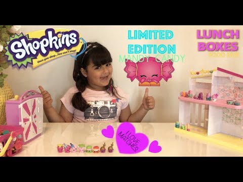 """SHOPKINS LIMITED EDITION """"MANDY CANDY"""""""