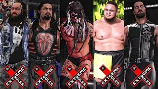 Wwe 2k17 extreme rules 2017 - fatal 5 way extreme rules match highlights!