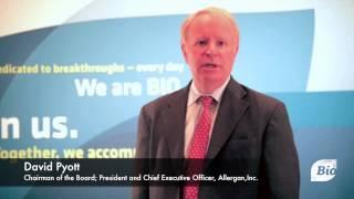 """Innovation is..."" with David Pyott, of Allergan, Inc."