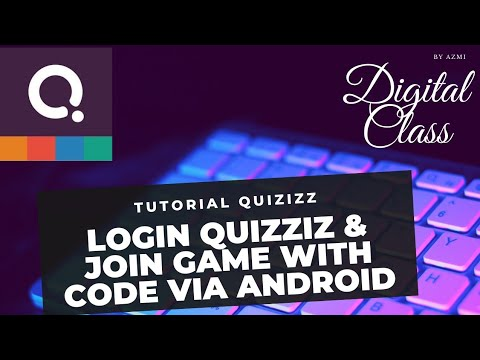 Login Quizizz Dan Join Game With Code Via Android Youtube