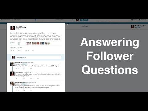 Answering Fan Questions