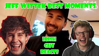 1ST TIME REACTING to JEFF WITTEK FROM DAVID VLOGS!!
