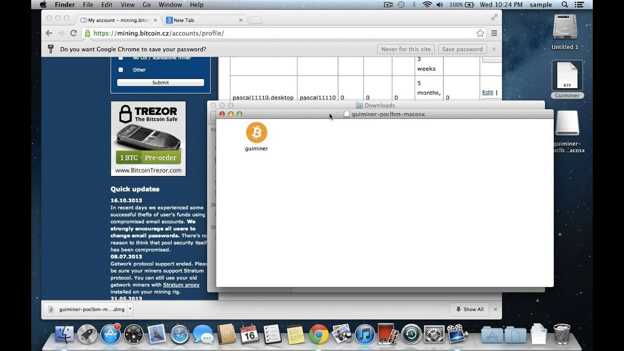 Updated how to do gpu bitcoin mining on a mac easily youtube ccuart