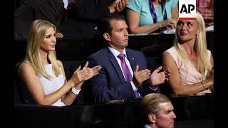 STILLS: Trump's daughter-in-law opens letter containing white powder