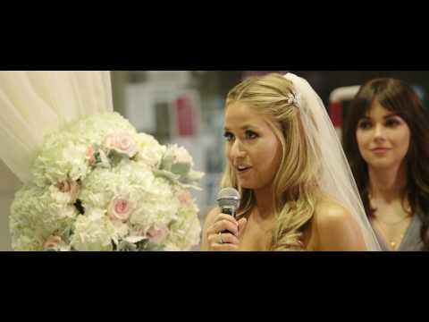 Free Library of Philadelphia Wedding | Julie + Zac's Wedding Highlight Film