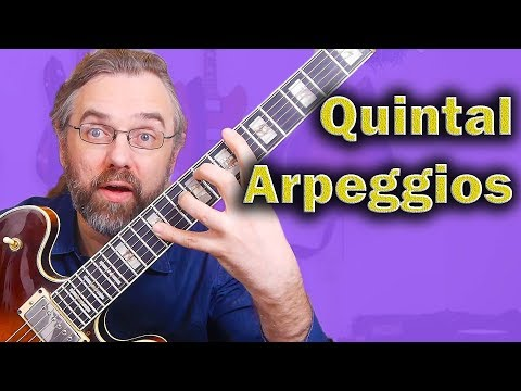 Quintal Arpeggios - Stretch Your Fingers and Open Up The sound