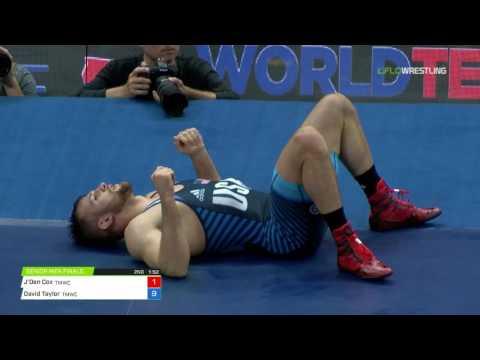 86 Round 1 - J'Den Cox (TMWC) vs. David Taylor (Nittany Lion/TMWC)