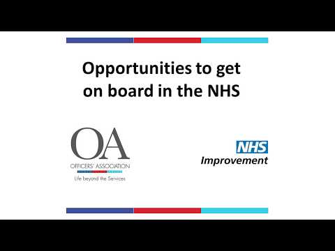 Joining an NHS Board – Becoming a Non-Executive Director