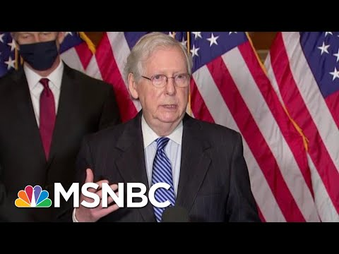 McConnell Grapples With How To Move Forward After Trump Impeachment Trial | MTP Daily | MSNBC