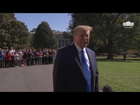 10/15/20: President Trump Delivers Remarks Upon Departure