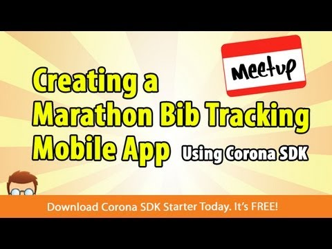 Creating a Marathon Bib Tracking App Using Corona SDK
