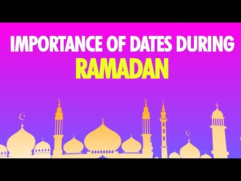 Ramadan 2018: Why dates are important during holy month