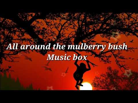 [Music box] All around the mulberry bush music box for sleeping 1 hour