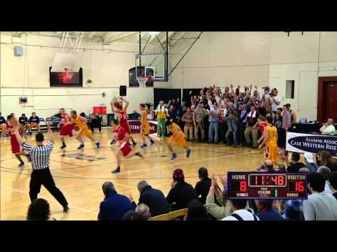 Case Western Reserve University vs. Emory University  (Men's Basketball - 1st Half)