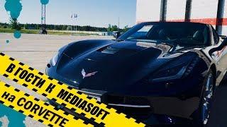 Едем на CORVETTE в гости к Mediasoft + драг ульяновск + Maserati Levante + Jeep SRT8