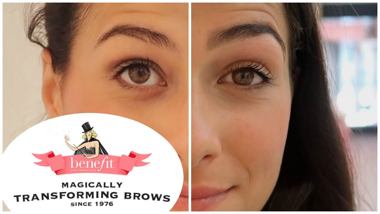 fresh styles hot new products many fashionable BENEFIT BROW BAR @Sephora Milano || Vlog #36