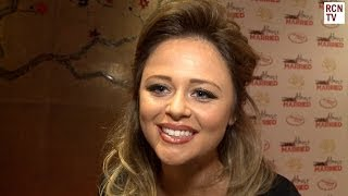 Emily Atack Interview Almost Married Premiere