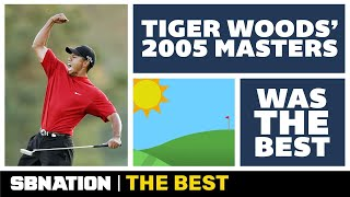 Tiger Woods' greatest win came after a 28-hole Sunday in the 2005 Masters
