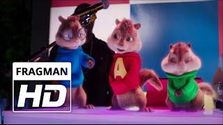 Alvin ve Sincaplar Yol Macerası  Türkçe Dublajlı Fragman  2015