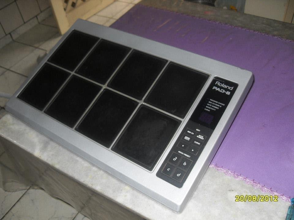Wonderlijk Roland Octapad PAD 8 - Ligações via USB MIDI e MIDI x Sintetizador HJ-58