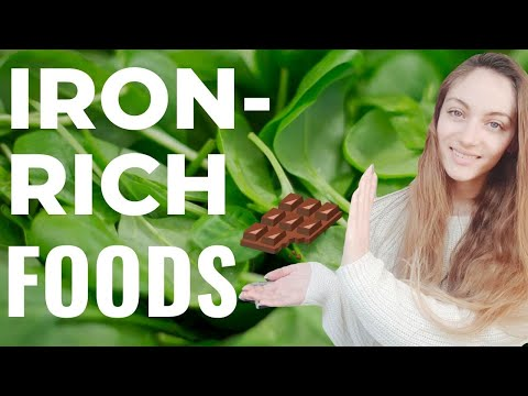 HOW TO PREVENT IRON DEFICIENCY: BEST FOODS RICH IN IRON! (Foods to prevent anemia). | Edukale