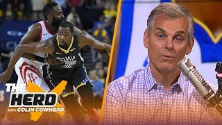 KD is now significantly better than Harden, would be 'out of his mind' to leave GS   NBA   THE HERD