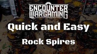 Quick and Easy Terrain Tutorial - Desert Rock Spires