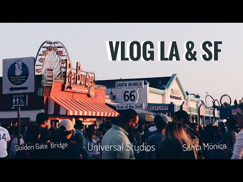 VLOG: LOS ÁNGELES (Universal Studios) & SAN FRANCISCO | @CLAKOVI