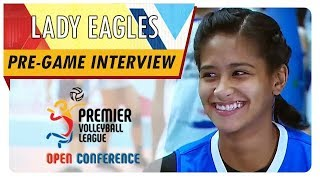 PVL OC 2018: Ponggay Gaston | ADMU | ADMU vs. AdU | Pre-game Interview