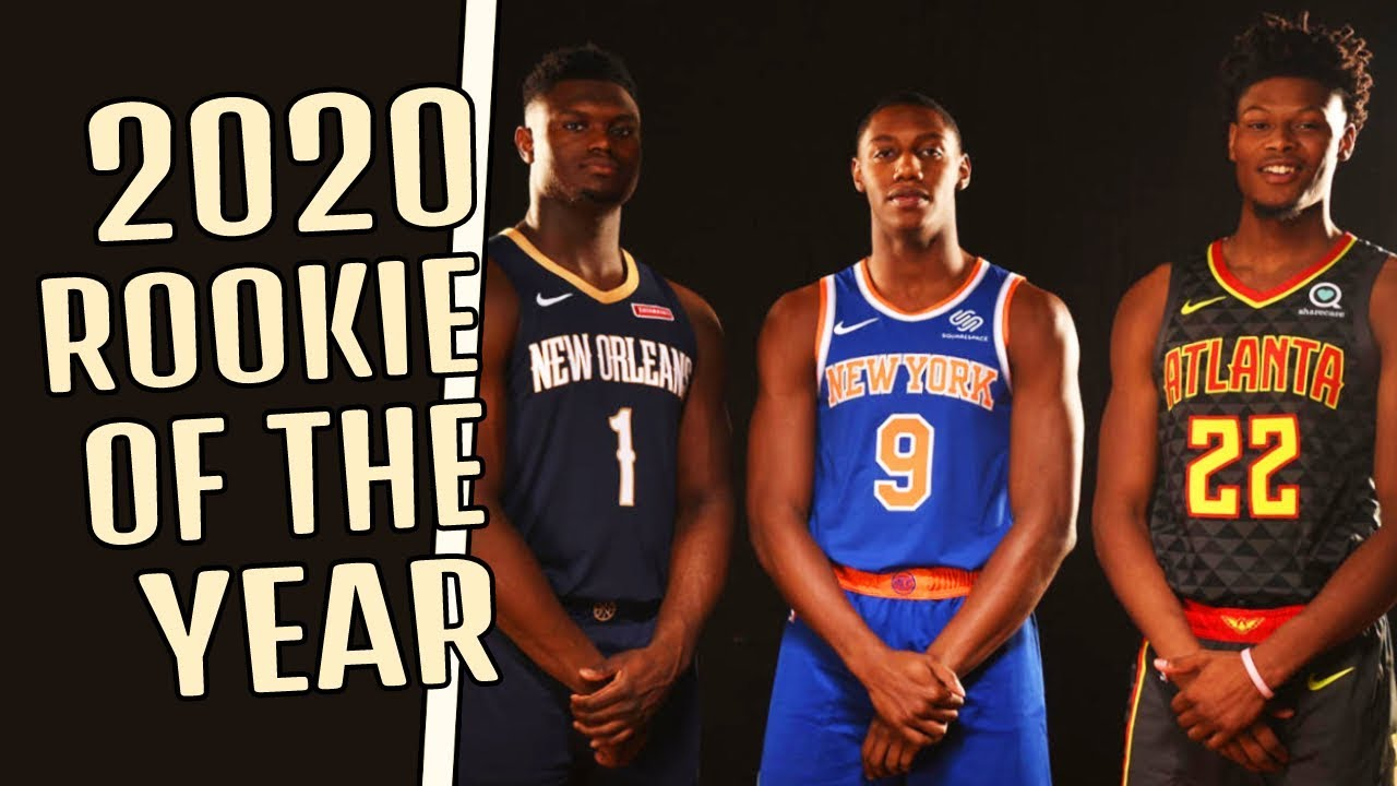 2020 Nba Rookie Of The Year Prediction Zion Williamson Ja Morant And More